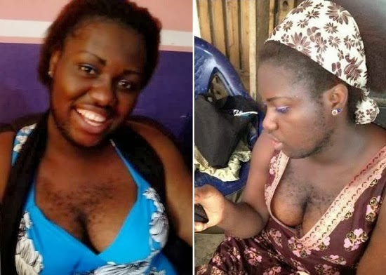 MEET Nigeria's Hairiest Woman
