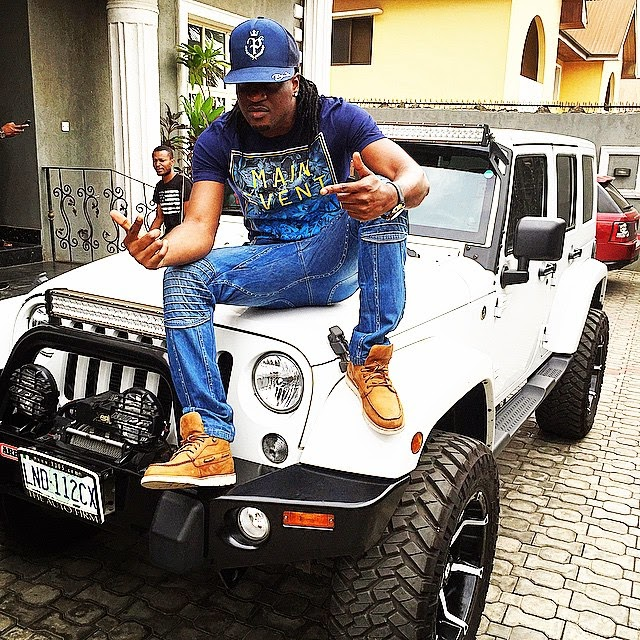 Paul Okoye shows off swag in new photos
